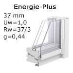 ENERGIE-PLUS Verglasung